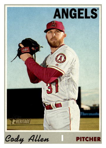 Photo of 2019 Topps Heritage #569 Cody Allen