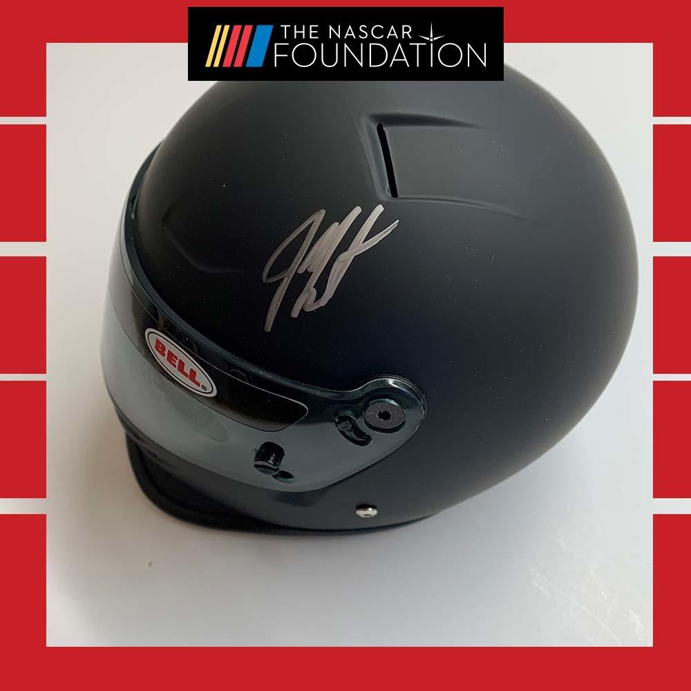 NASCAR'S Jeff Burton Autographed mini helmet!