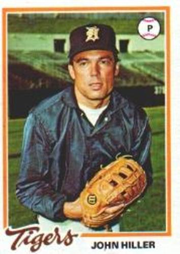 Photo of 1978 Topps #258 John Hiller