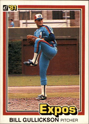 Photo of 1981 Donruss #91 Bill Gullickson RC