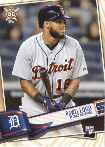 Photo of 2019 Topps Big League #124 Dawel Lugo RC