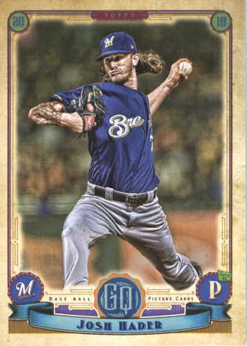 Photo of 2019 Topps Gypsy Queen #204 Josh Hader