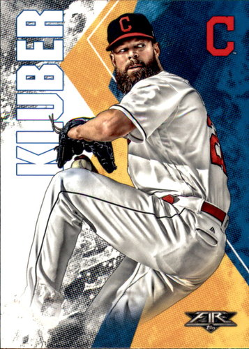 Photo of 2019 Topps Fire #160 Corey Kluber