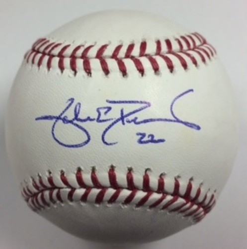 Photo of Jake Peavy Autographed Baseball