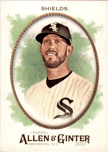 Photo of 2017 Topps Allen and Ginter #295 James Shields