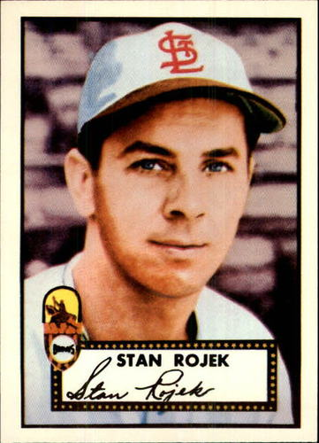 Photo of 1983 Topps 1952 Reprint #163 Stan Rojek