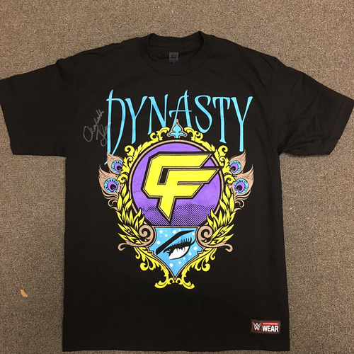 Photo of Charlotte Flair SIGNED Authentic T-Shirt (Size: Medium)