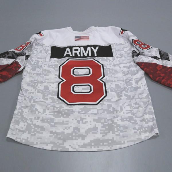 "Photo of Ohio State Ice Hockey Military Appreciation Jersey #8 ""Army"" / Size 56"