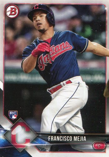 Photo of 2018 Bowman #2 Francisco Mejia -- Rookie Card