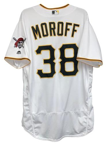 Photo of Max Moroff 2018 Game-Used Jersey