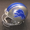 NFL - Lions T.J. Lang signed Lions proline helmet