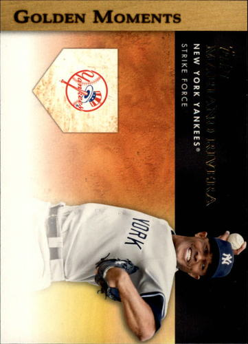Photo of 2012 Topps Golden Moments Series 2 #GM29 Mariano Rivera