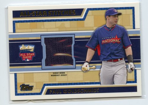 Photo of 2014 Topps Update All Star Stitches #ASRPG Paul Goldschmidt