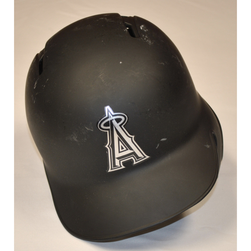 "Photo of Max ""STASSINELLI"" Stassi Los Angeles Angels Game-Used 2019 Players' Weekend Helmet"