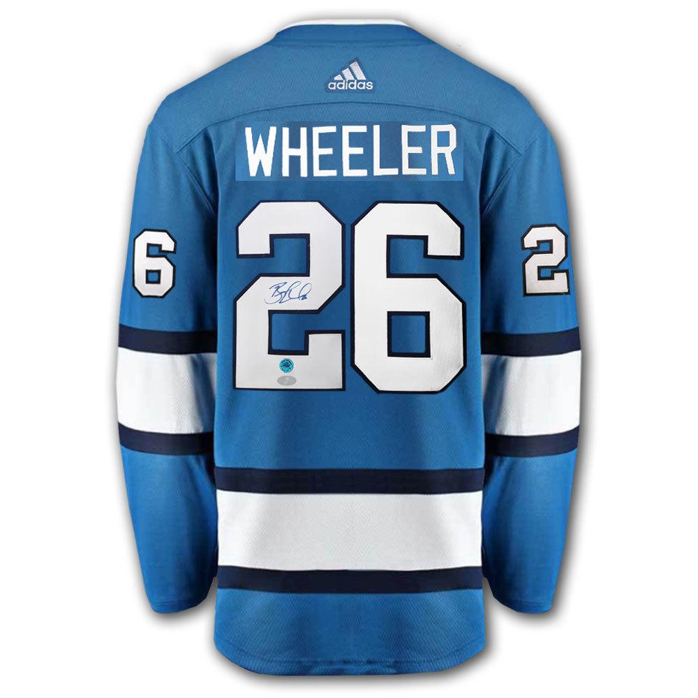 Blake Wheeler Winnipeg Jets Adidas Pro Autographed Jersey