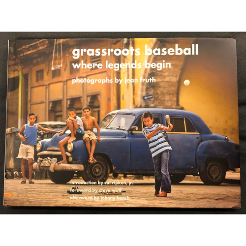 Photo of Grassroots Baseball Book