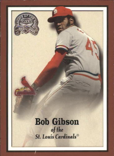 Photo of 2000 Greats of the Game #68 Bob Gibson