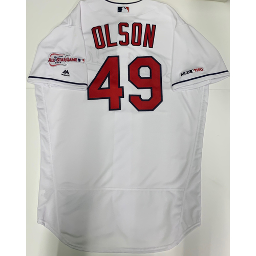 Photo of Tyler Olson Team Issued 2019 Home Jersey