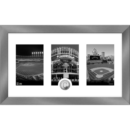 Photo of Cleveland Indians Art Deco Silver Coin Photo Mint