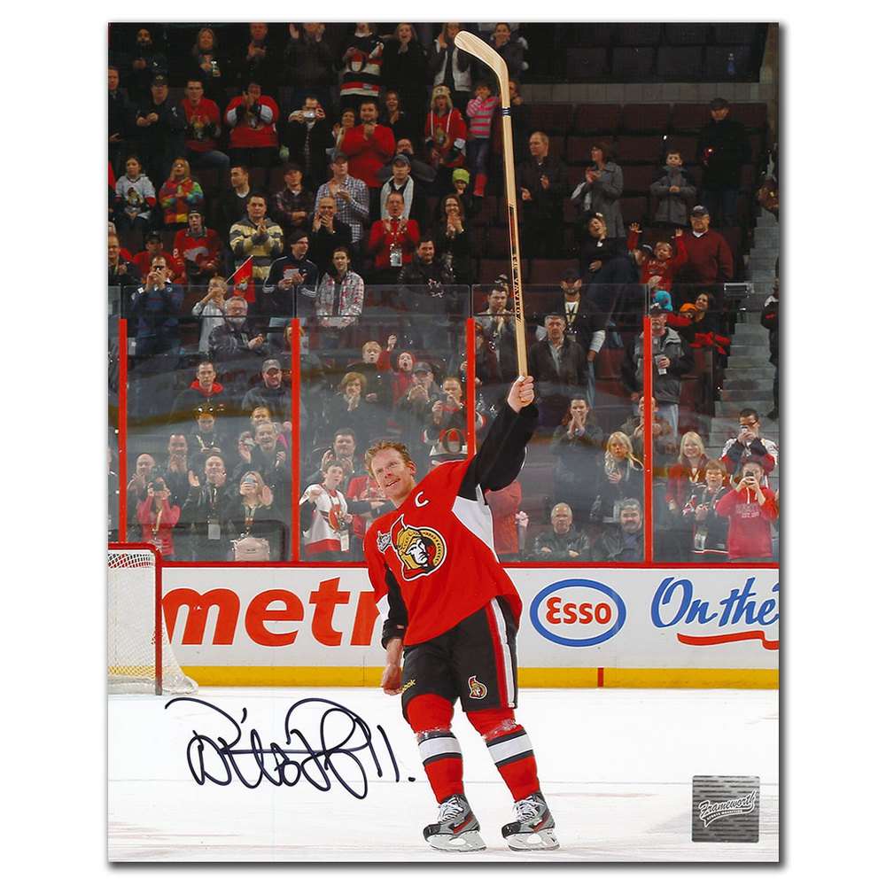 Daniel Alfredsson Ottawa Senators Autographed 8x10