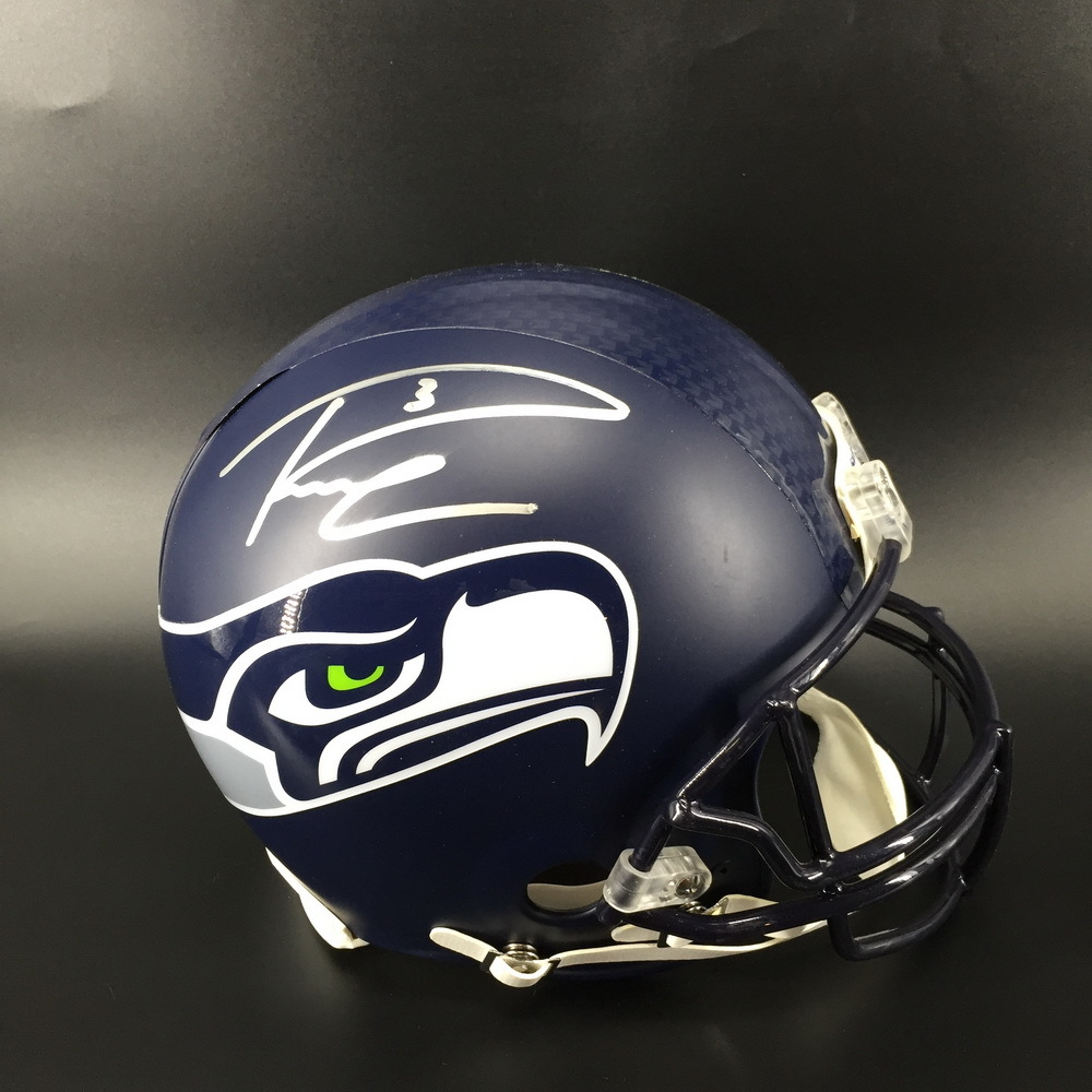 Seahawks Russell Wilson Signed Proline Helmet- The money raised in this auction will be donated to the Black College Football Hall of Fame