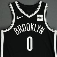 David Nwaba - Brooklyn Nets - NBA China Games - Game-Worn Icon Edition Jersey - 2019-20 NBA Season