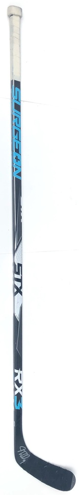#9 J.T. Miller Game Used Stick - Autographed - Vancouver Canucks