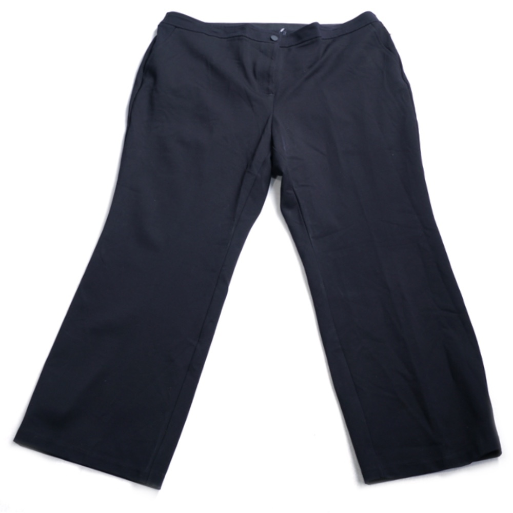 Photo of Anne Klein Plus Size Mid-Rise Flat-Front Pants