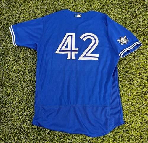 Photo of CHARITY AUCTION: Authenticated Team Issued #42 Jersey: Sam Gaviglio (2020 Season). Size 48.