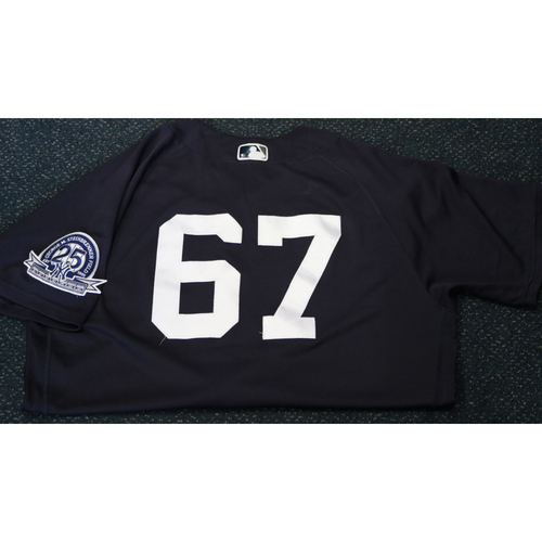Photo of Team-Issued Spring Training Jersey - Matt Blake - #67 - Jersey Size - 44