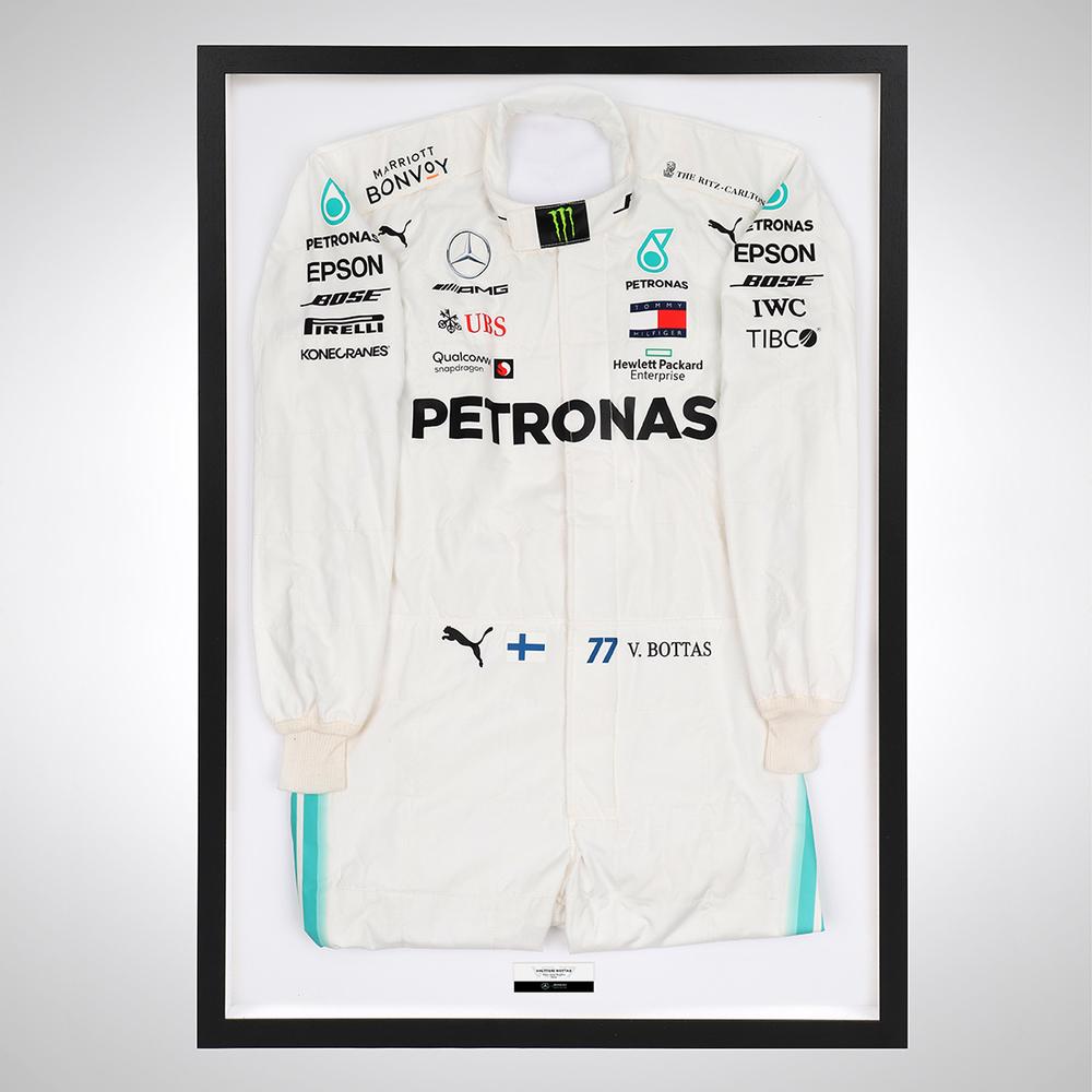 Valtteri Bottas 2019 Framed Official Replica Race Suit