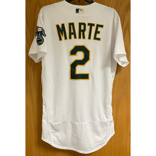 Photo of Game-Used Jersey - Starling Marte (Stolen Base #43 - 9/7/21)