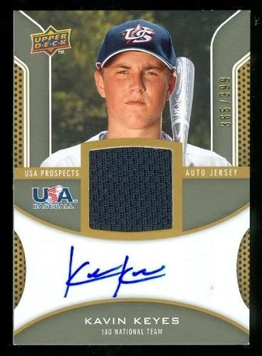 Photo of 2009 Upper Deck Signature Stars USA Star Prospects Jersey Autographs #KK Kavin Keyes