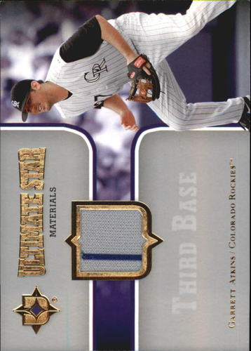 Photo of 2007 Ultimate Collection Ultimate Star Materials #GA Garrett Atkins