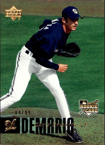 Photo of 2006 Upper Deck Rookie Foil Gold #940 Chris Demaria