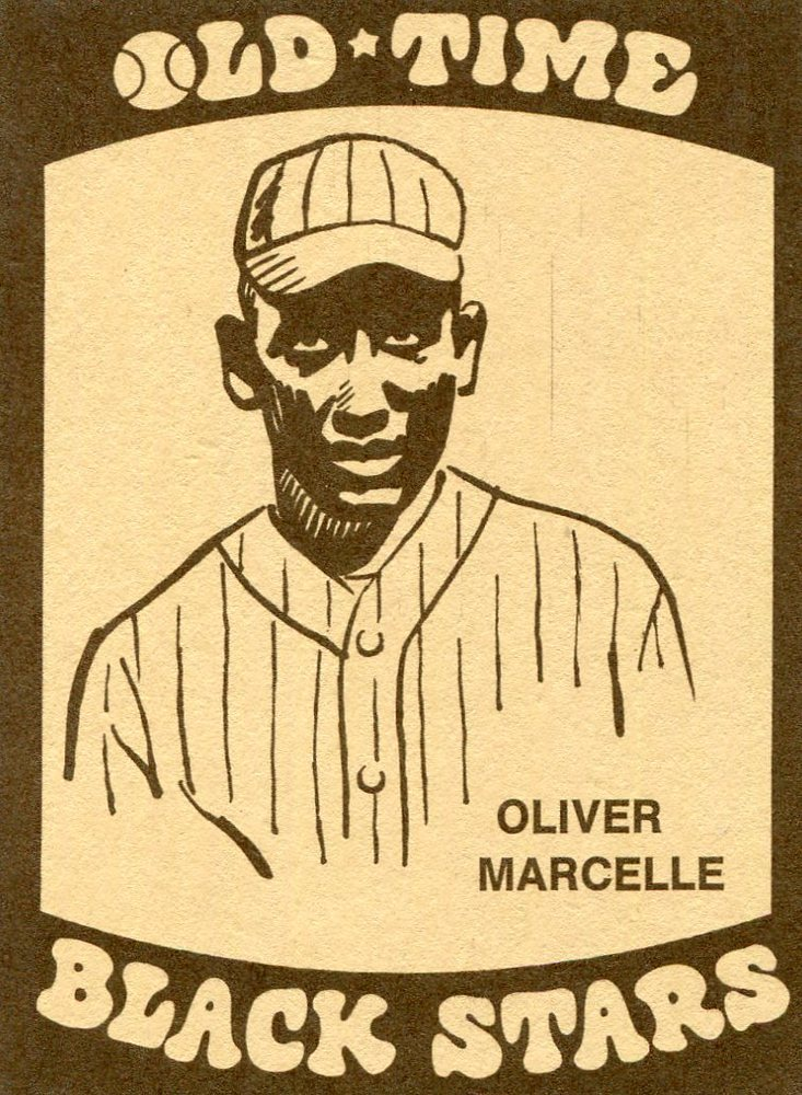 1974 Laughlin Old Time Black Stars #3 Oliver Marcelle