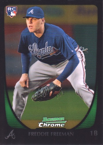 Photo of 2011 Bowman Chrome #185 Freddie Freeman RC
