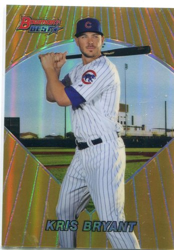 Photo of 2016 Bowman's Best '96 Bowman's Best #96BBKB Kris Bryant