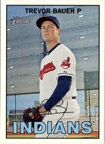 Photo of 2016 Topps Heritage #282 Trevor Bauer