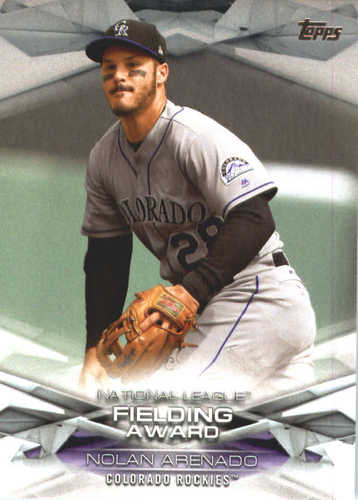 Photo of 2018 Topps MLB Awards #MLBA23 Nolan Arenado