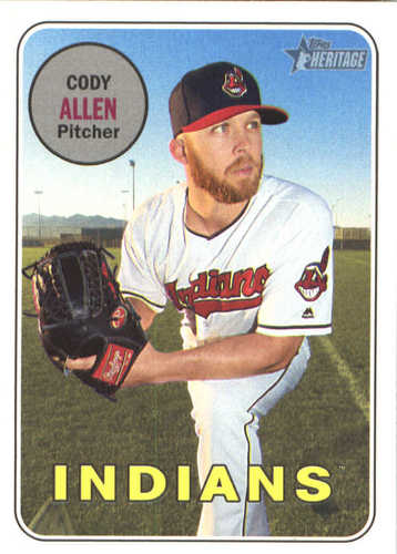 Photo of 2018 Topps Heritage #157 Cody Allen