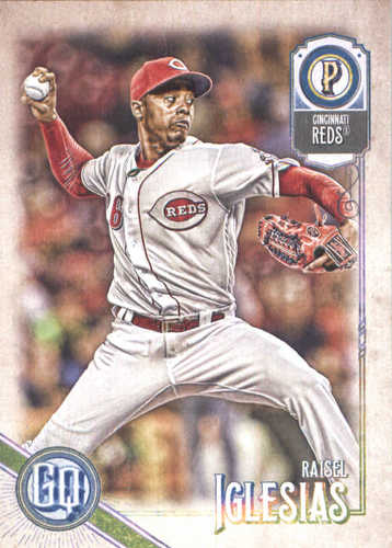 Photo of 2018 Topps Gypsy Queen #272 Raisel Iglesias