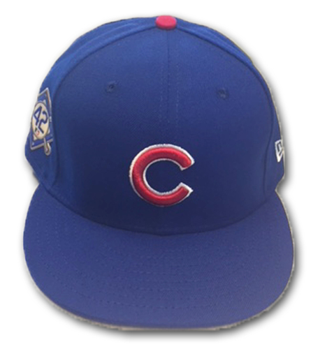 Photo of David Bote Game-Used Hat -- Size 7 3/8 -- Braves vs. Cubs -- 5/14/18