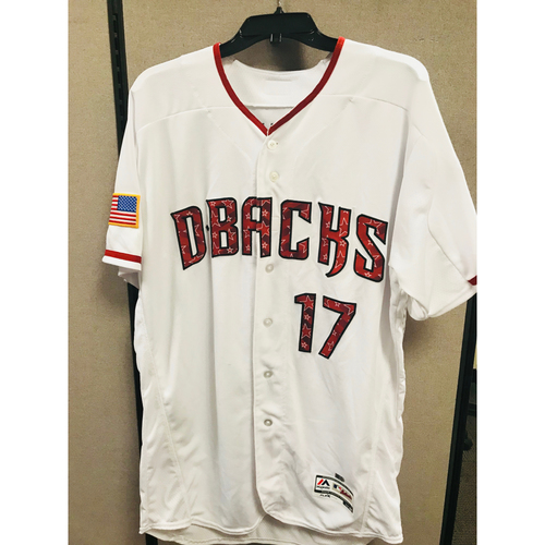 Photo of Torey Lovullo Home 4th of July Jersey