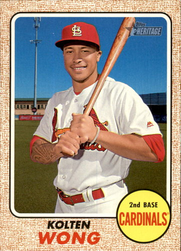 Photo of 2017 Topps Heritage #344 Kolten Wong