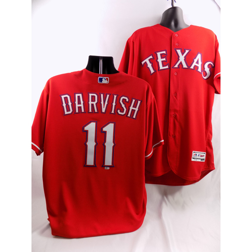 Photo of Yu Darvish Red Team-Issued Jersey