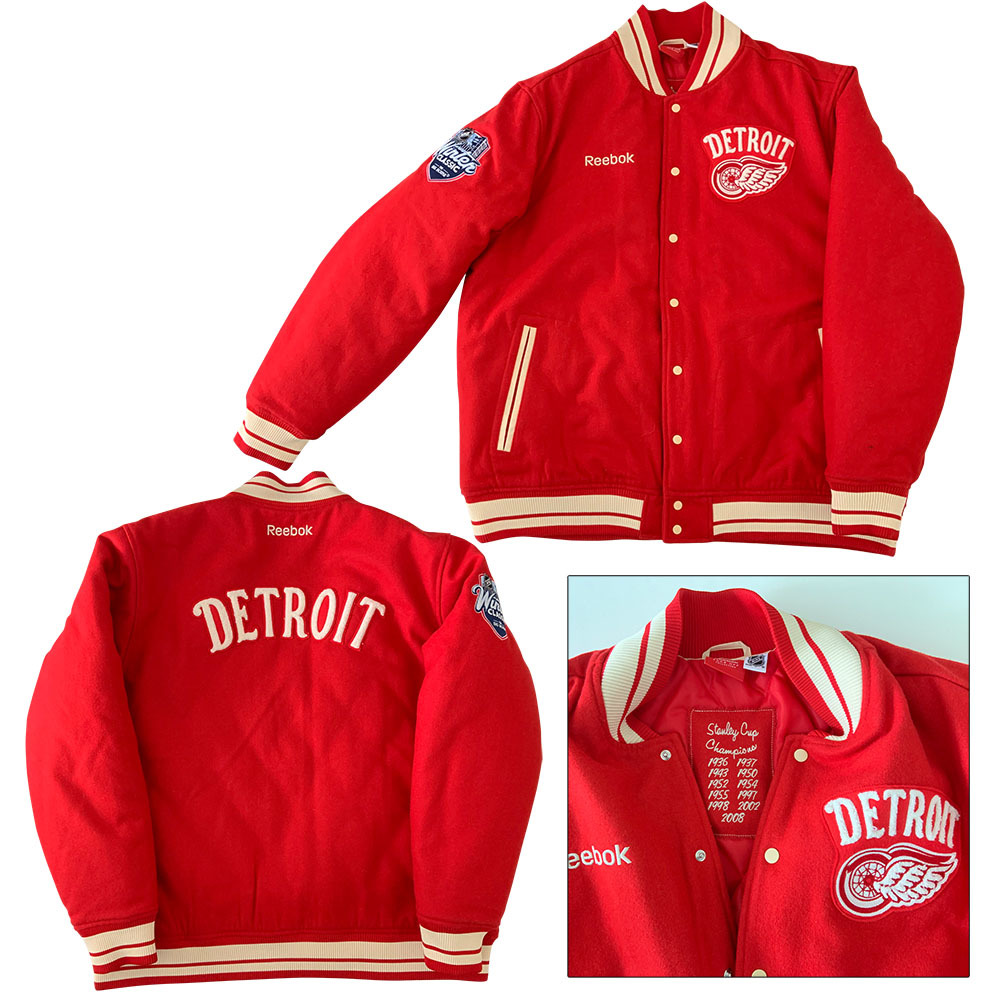 Gordie Howe's Detroit Red Wings 2014 NHL Winter Classic Jacket - Worn by Gordie During Alumni Game