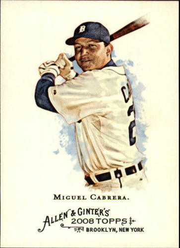 Photo of 2008 Topps Allen and Ginter #30 Miguel Cabrera