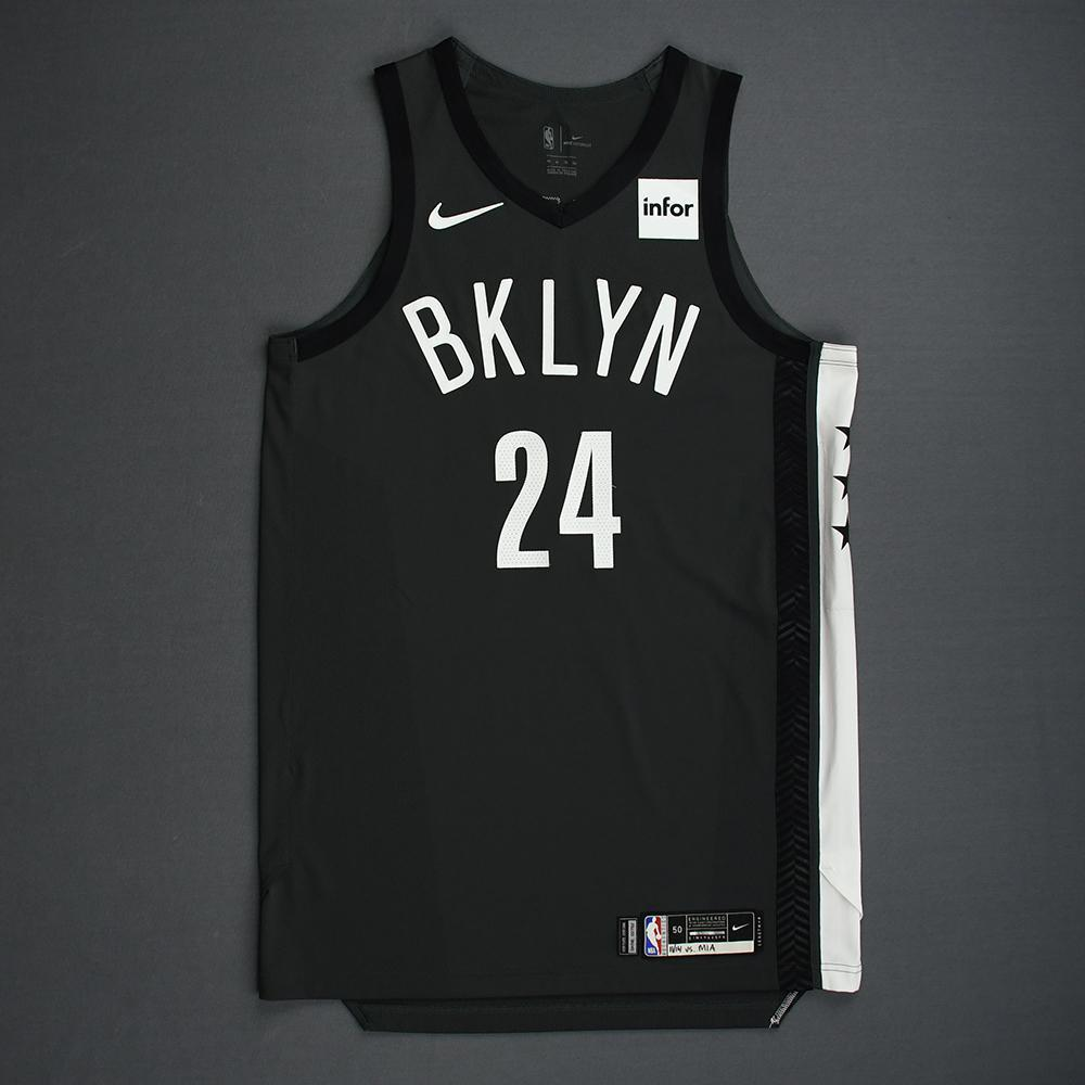 Rondae Hollis-Jefferson - Brooklyn Nets - 2018-19 Season - Game-Issued Gray Statement Edition Jersey