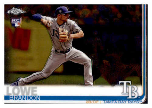 Photo of 2019 Topps Chrome #151 Brandon Lowe RC